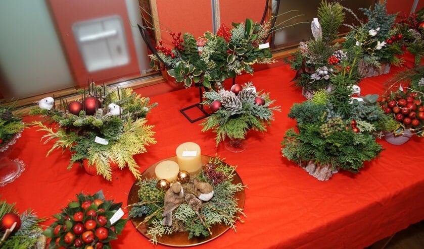 De adventsmarkt bij Dr Jenny: voor allerlei zaken om het huis in kerstsfeer te brengen. Foto: Frank Vinkenvleugel
