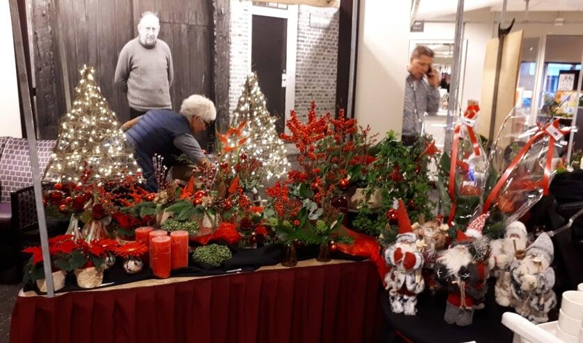 Kerstmarkt in De Molenberg.