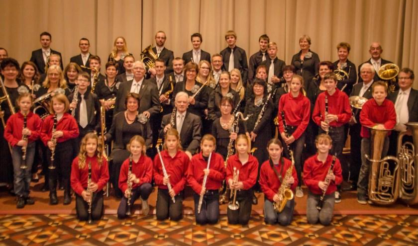 Muziekvereniging Jubal Wichmond/Vierakker. Foto: SPS Studio/Stijn Scholten