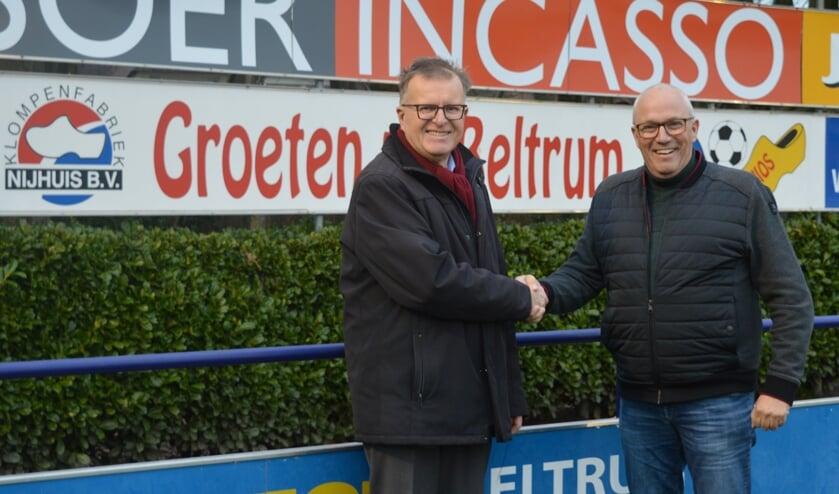 Hans Scheinck en William Slotboom. Foto: PR