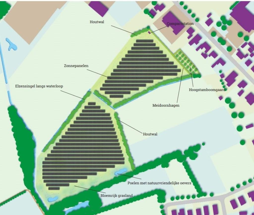 Inpassing van het park in Zieuwent. Foto: Keegstra, Brandt © Achterhoek Nieuws b.v.