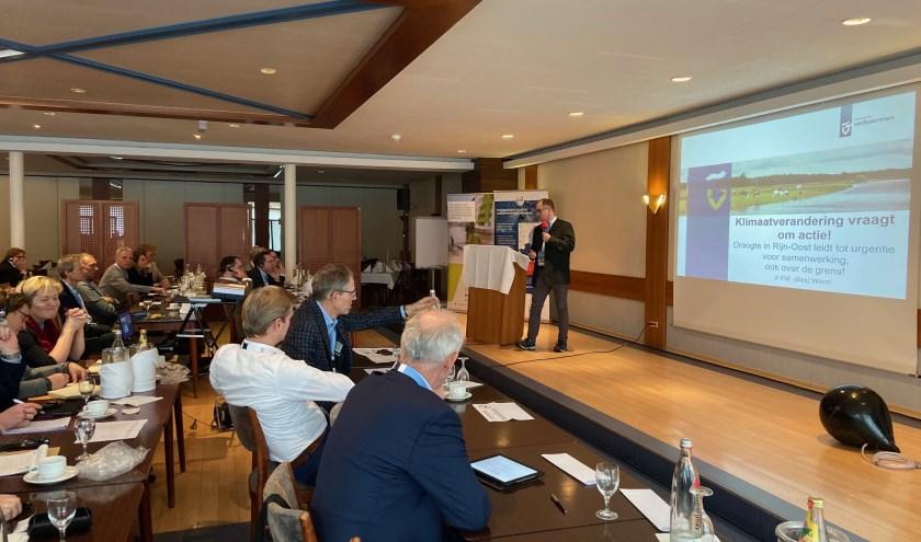 Het klimaat grensoverschrijdend aanpakken, dat was het onderwerp van de conferentie. Foto: PR