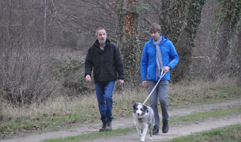 Wandelen met de hond door Brinkheurne. Foto: PR