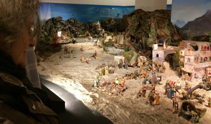 Het kerstdiorama inOrientalis was indrukwekkend.Foto:Francy Wicherink