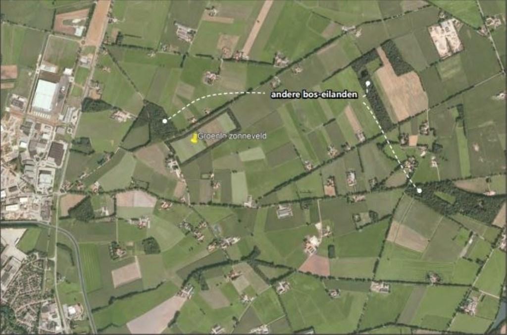 Plaats van het zonnepark aan de Vredenseweg in Groenlo Foto: Keegstra, Brandt © Achterhoek Nieuws b.v.