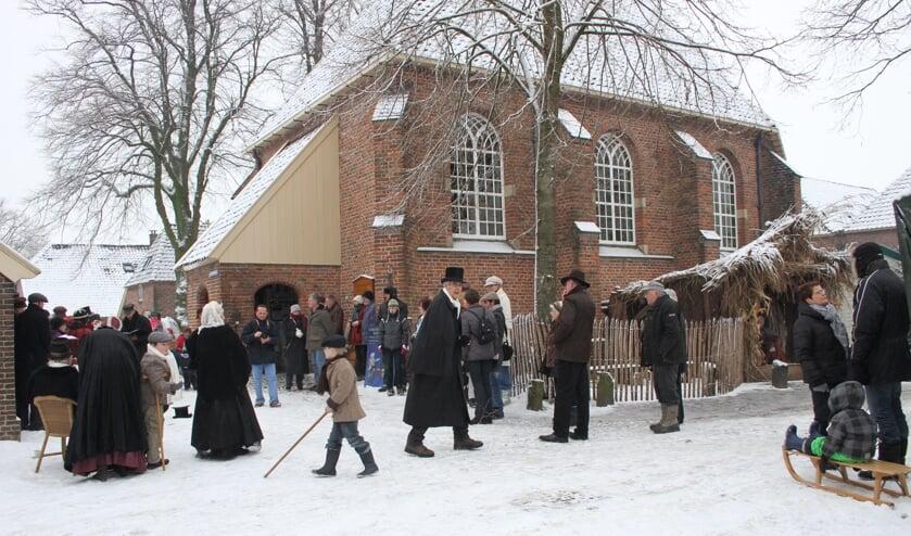 Kerstfair in de sfeer van Dickens in Bronkhorst. Foto: Liesbeth Spaansen