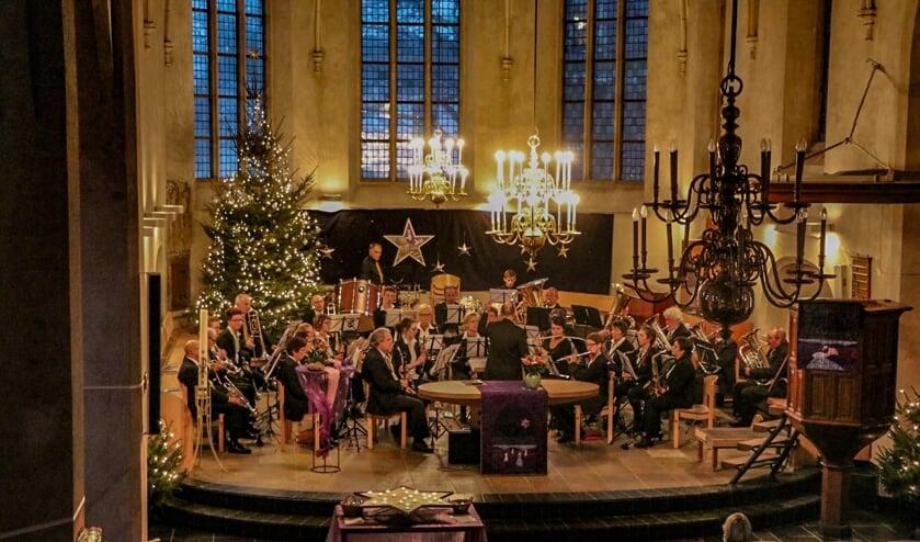 Harmonie Prinses Juliana Zelhem geeft een kerstmarktconcert. Foto: PR