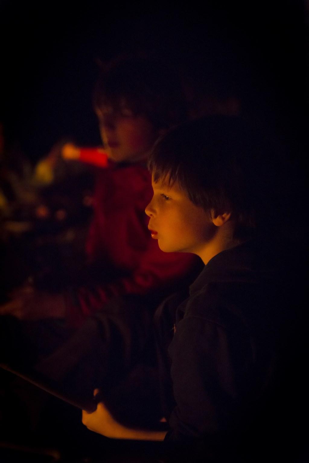 Lichtjestocht op Landgoed Mentink. Foto: ©Natuurmonumenten-René Koster