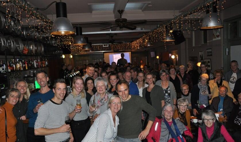 Een zaal vol reünisten. Foto: Gerben Westerveld