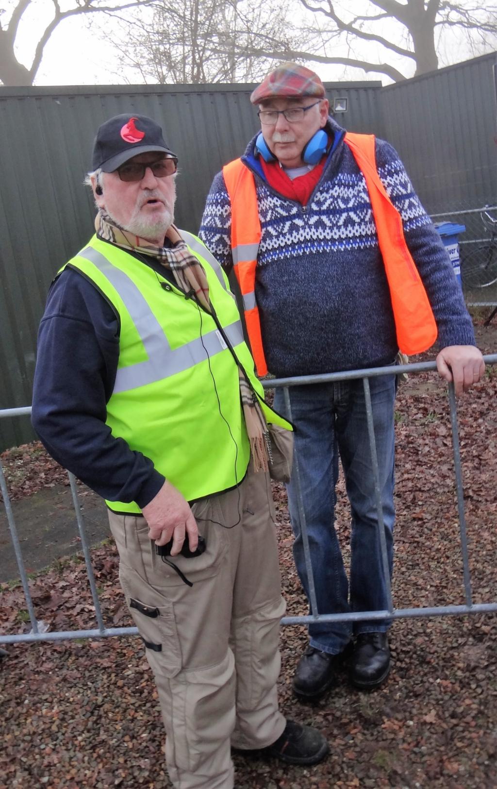 Initiatiefnemers Peter Hendrik en Hans Adema. Foto: Joop Saalmink  © Achterhoek Nieuws b.v.