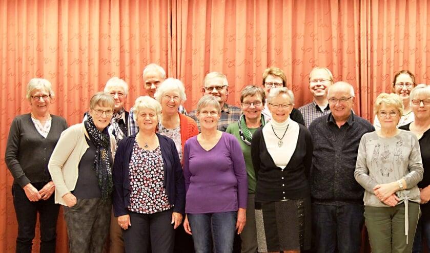 De vrijwilligers van de kerstactie. Foto: PR