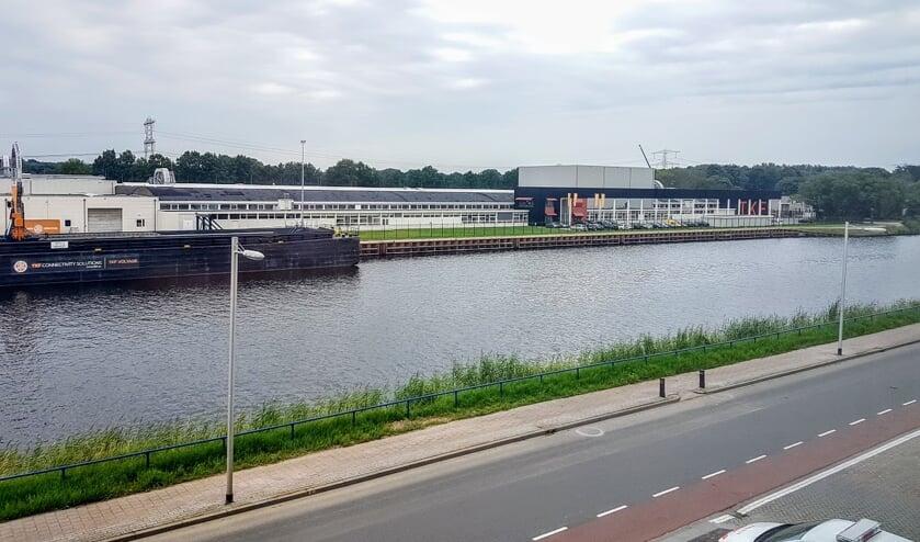 Het TKF-terrein aan het Twentekanaal. Archieffoto: Henri Bruntink
