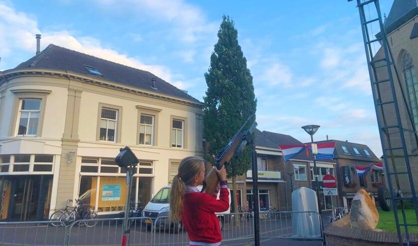 Dit jaar geen opening van het jeugdschieten door de kinderburgemeester en andere activiteiten. Foto: Eva Schipper
