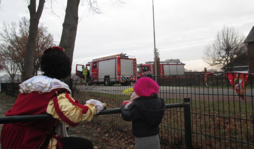 Vol verwachting wordt naar de komst van Sint op De Driesprong uitgekeken, Foto: PR.