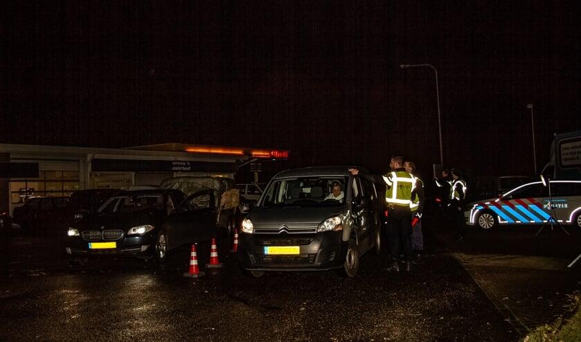 Verlichtingscontrole, georganiseerd door Veilig Verkeer Nederland, afdeling Bronckhorst. Foto: Liesbeth Spaansen
