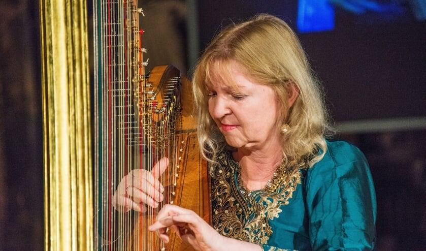 Harpiste Regina Ederveen. Foto: Bodo Flach
