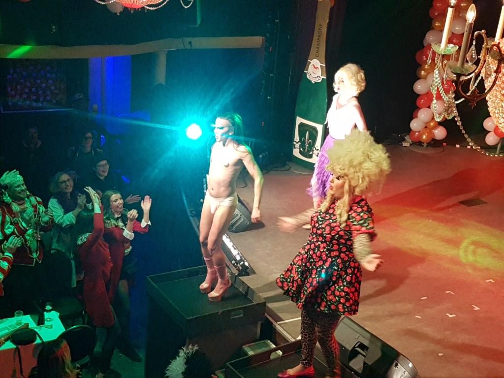 Mary Miracle's Crazy Lipsyncshow. Foto: Mark Ebbers  © Achterhoek Nieuws b.v.
