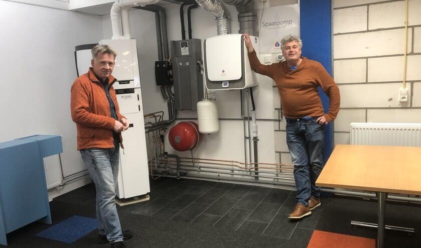 Installateurs en leveranciers vertellen over de alternatieve warmtevoorziening.Foto: PR