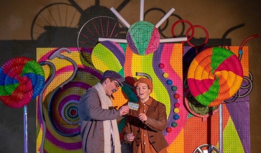 Zjuust brengt vier maal de voorstelling Sjakie en de chocoladefabriek van Roald Dahl op de planken.Foto: PR