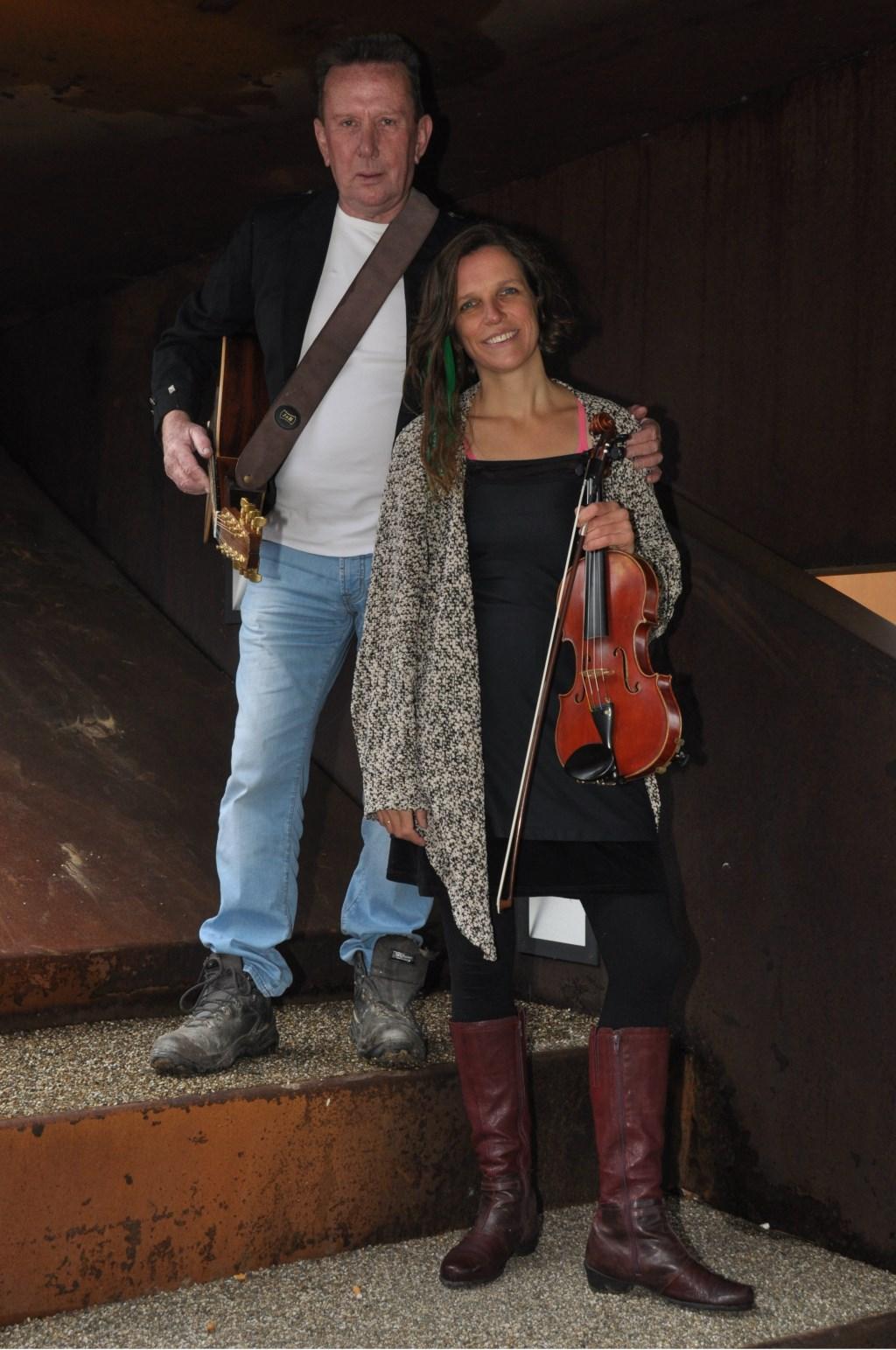Pete Brennan en Cornelie Wannee. Foto: PR  © Achterhoek Nieuws b.v.