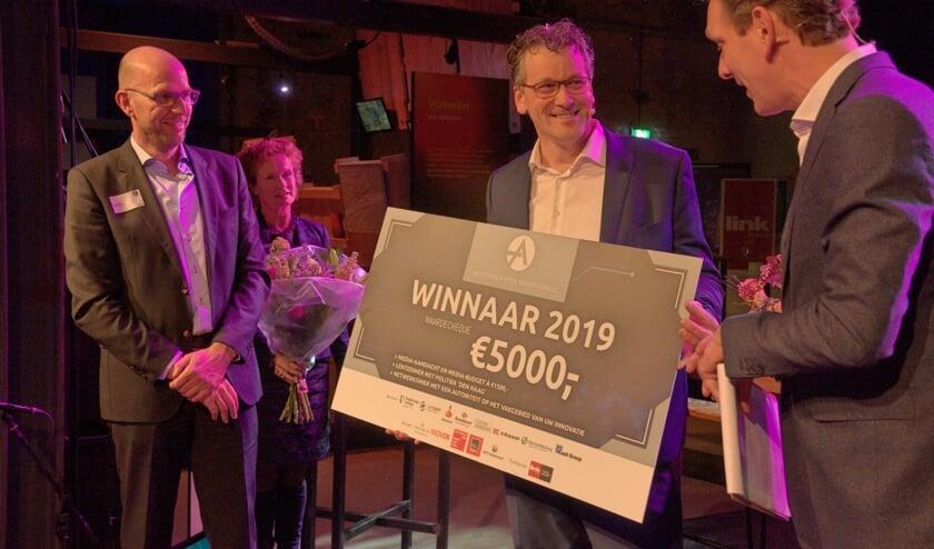 <p>Achterhoek open innovatieprijs ging in 2019 naar Henk Hanskamp. Foto: Com-magz</p>