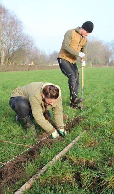 Via deze actie worden erf en omliggend landschap verfraaid met streekeigen beplanting. Foto: SLG