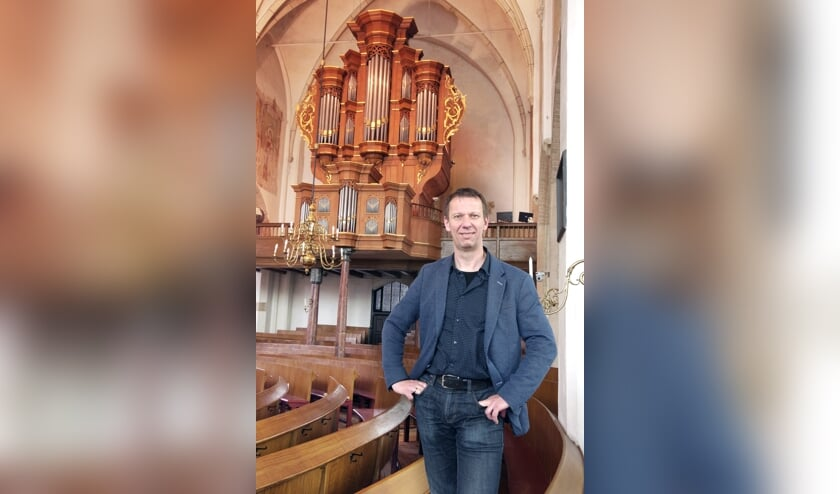 Harry van Wijk in de Oude Helenakerk. Foto: PR