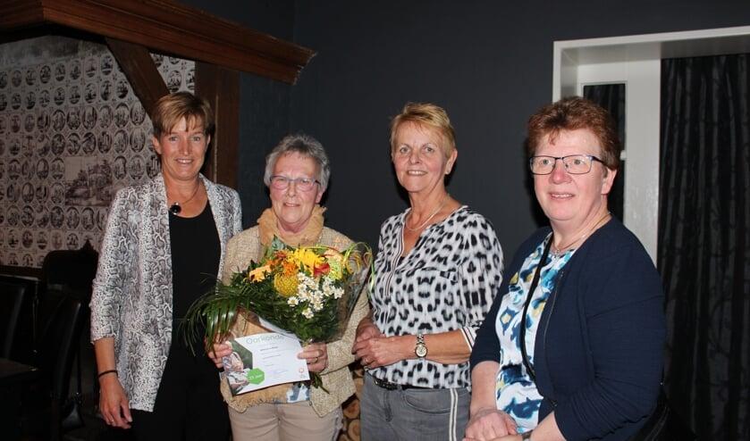 Vlnr: Astrid Spijkers, Willemien te Molder, Josè Stronks en Karin Geessink. Foto: Willemien Kroezen