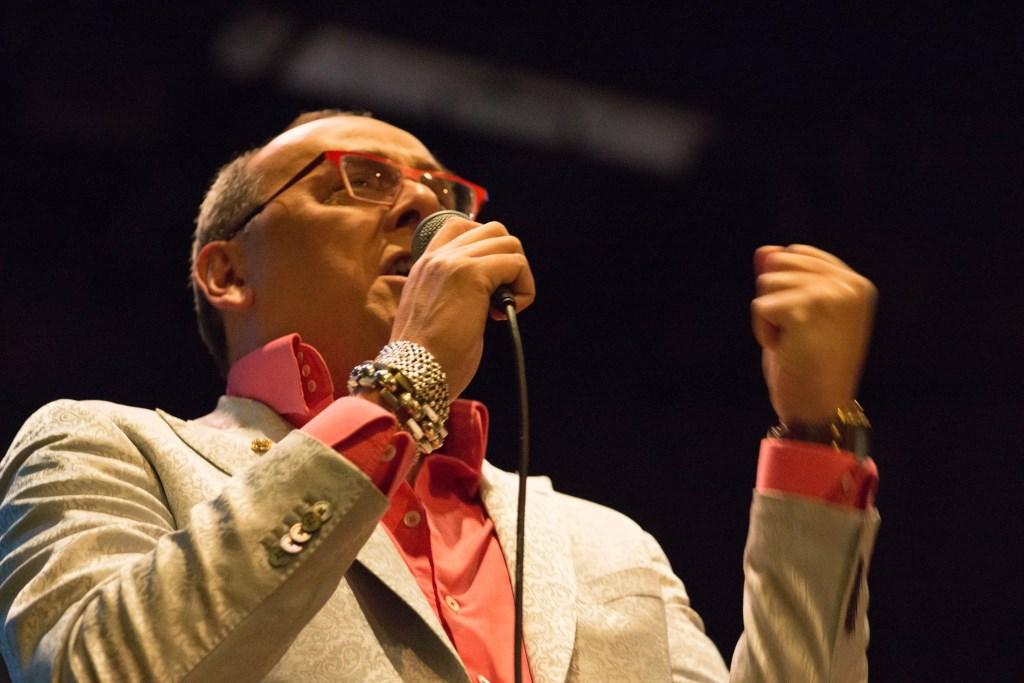 Jazzzanger Ronald Douglas. Foto: PR Bevrijdingsconcert  © Achterhoek Nieuws b.v.