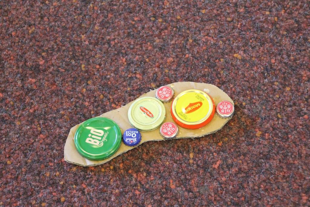 Voetstapjes richting de projectpresentaties. Foto: Annekée Cuppers  © Achterhoek Nieuws b.v.