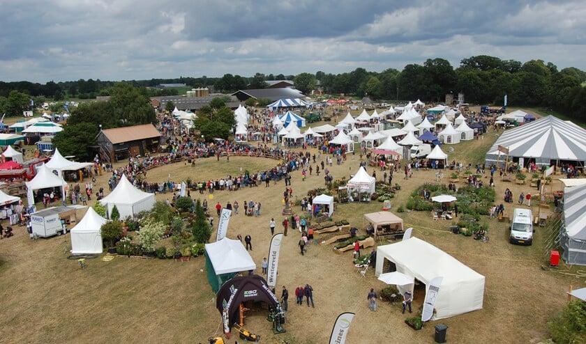 De Farm & Country Fair in vogelvlucht. Foto: PR