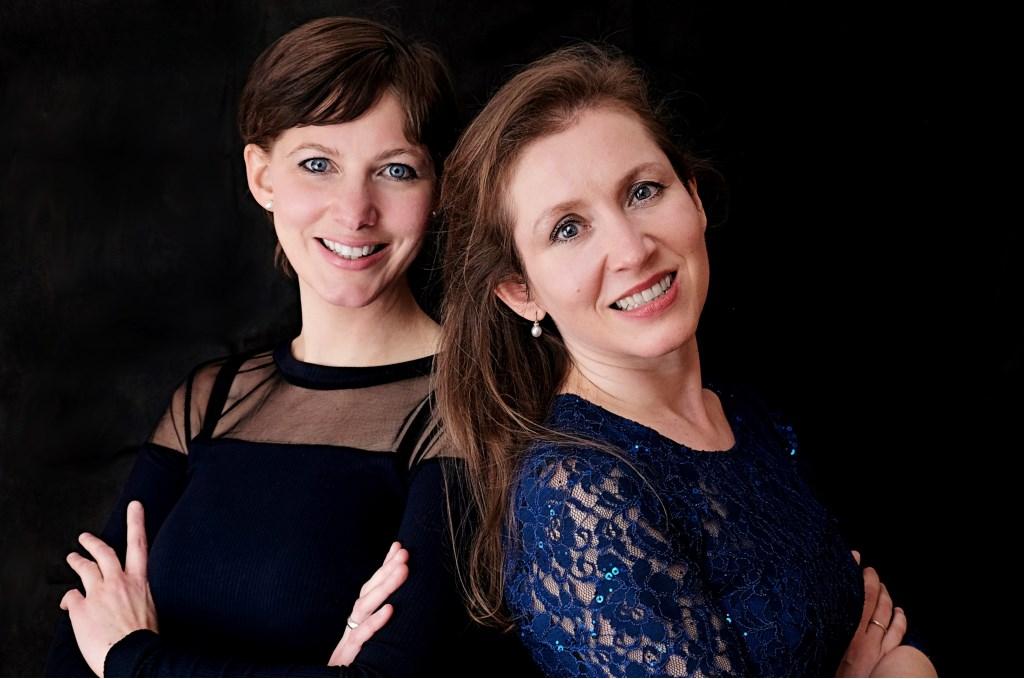 Ksenia Kouzmenko en Lucie Štepánová . Foto: PR  © Achterhoek Nieuws b.v.