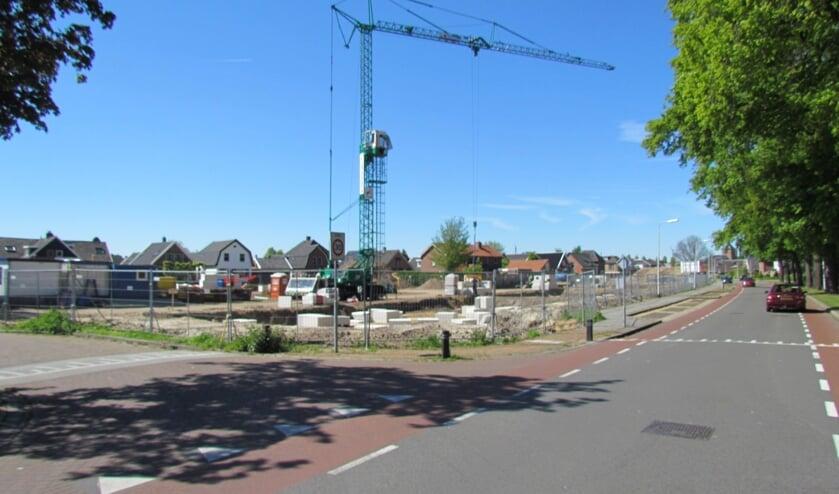 De bouwlocatie aan de Haaksbergseweg in Neede. Foto: Rob Stevens