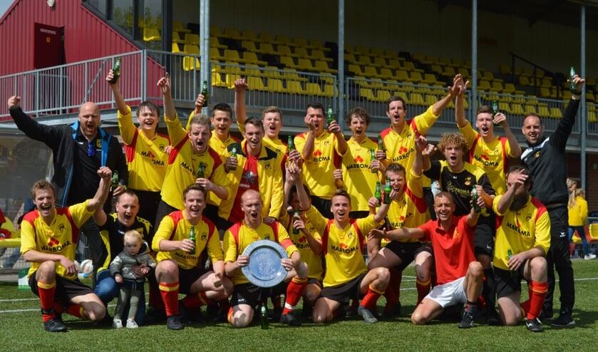 De kampioenen van VIOS 2. Foto: PR