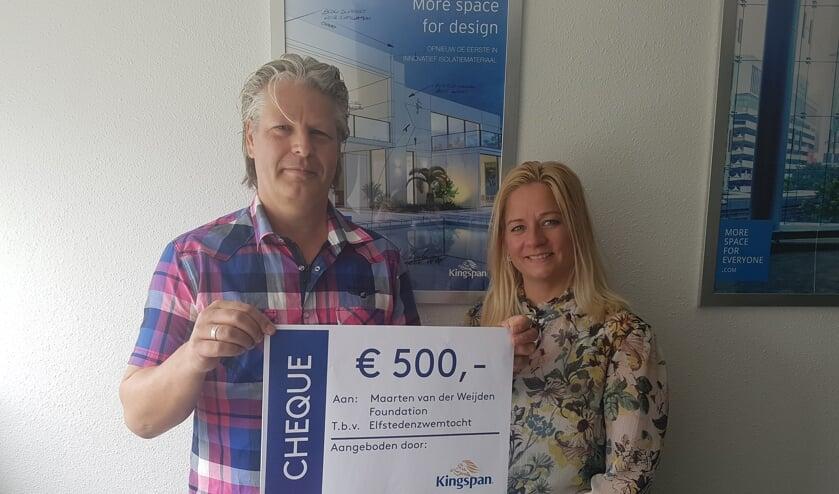 Markwin Drent & Chantal Heuvelman. Foto: PR