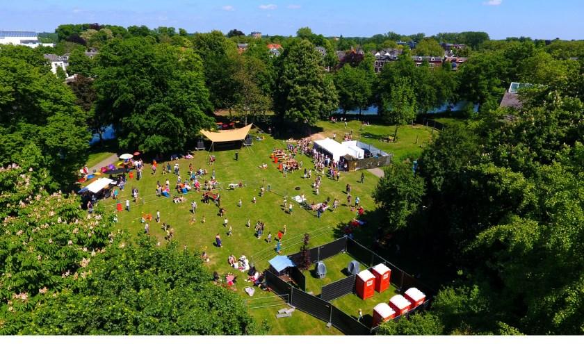 Het festivalterrein. Foto: Dennis Wiekens