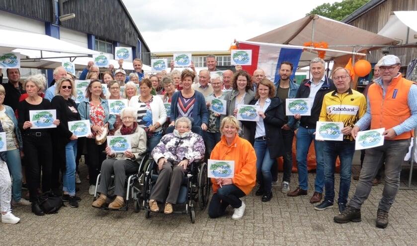 Afgevaardigden van maar liefst vijftig maatschappelijke organisaties en verenigingen uit Vorden en omgeving waren aanwezig. Foto: PR.