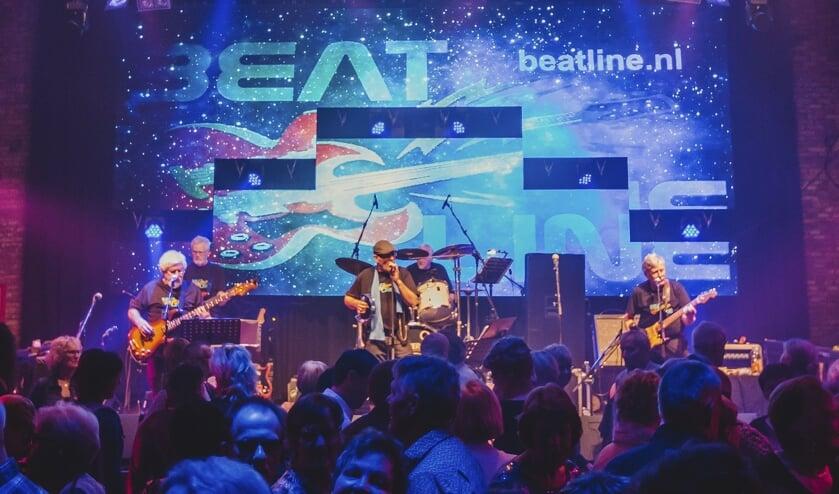 Beatline tijdens een optreden. Foto: PR