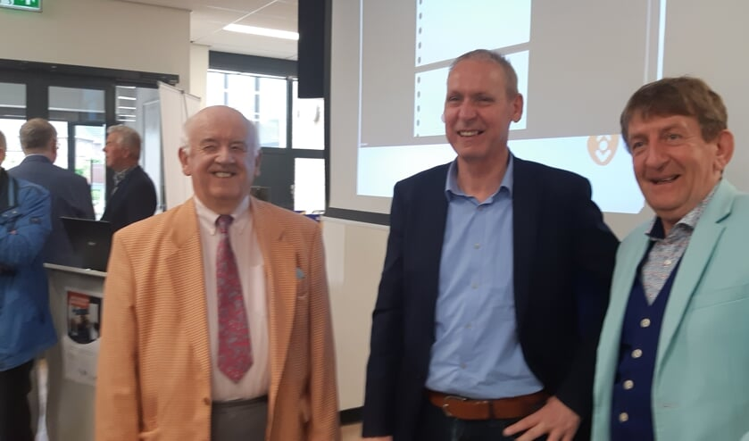 Vlnr. Ben Verhey, Jos Hoenderboom en Wim Hilgeman. Foto: Ferry Broshuis