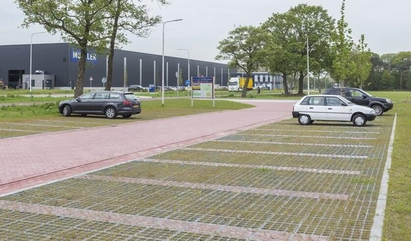 De nieuwe carpoolplek op Laarberg. Foto: PR Laarberg