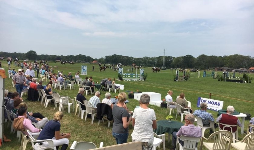 Mooi weer, mooie paardensport op het Pinksterconcours van de Hamelandse. Foto: PR