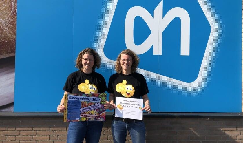 Marieke en Monique Jansen van Stichting Kindermiddag Vorden. Foto: PR