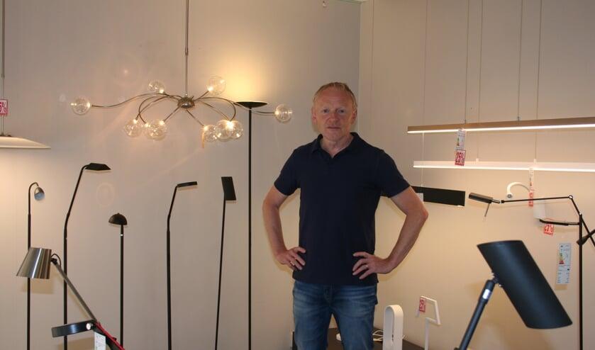 Jan van Embsen gaat verder met lichtadvies en websites. Foto: Verona Westera