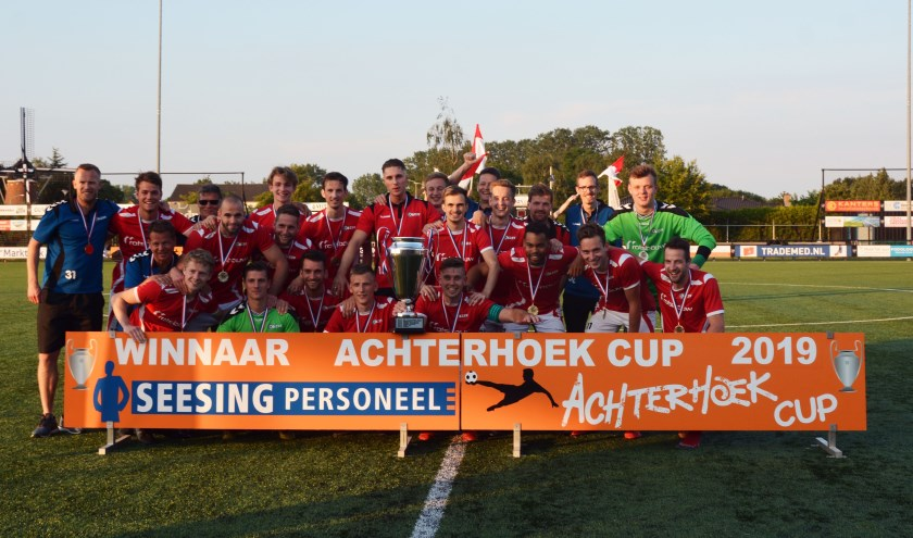 AZSV 1 wint de Achterhoek Cup. Foto: Henri Weikamp