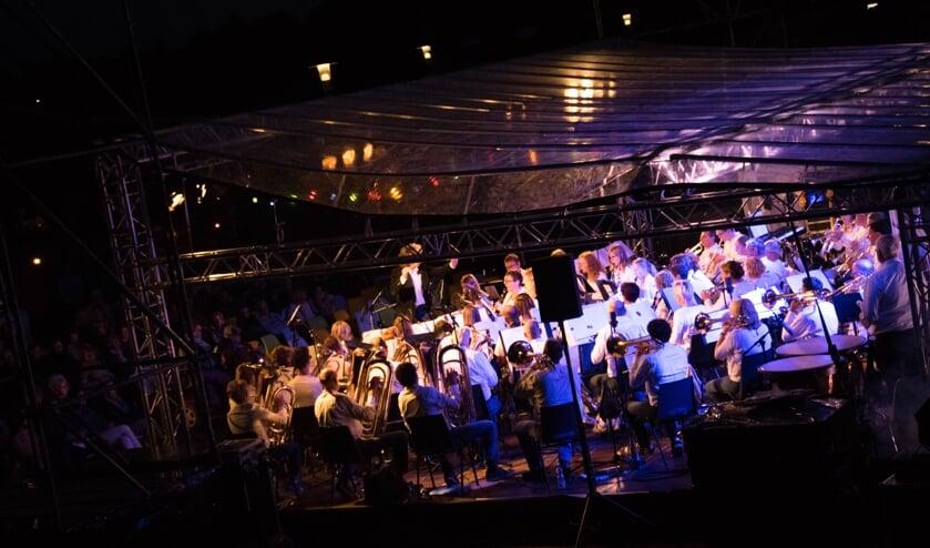Harmonie Zieuwent-Mariënvelde in concert. Foto: Renske's Fotografie