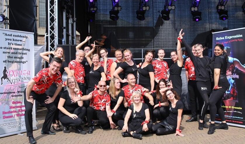 Danza Expresion, een van de acts in de line-up van Dancing in the Street. Foto: PR