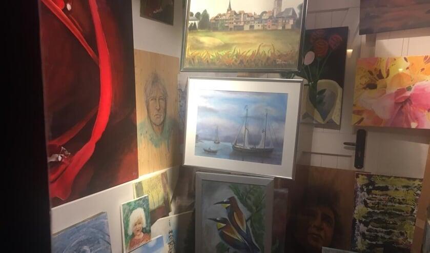 De kunstwerken zijn te zien in het kassagebouw van het voormalige WVC terrein. Foto: PR