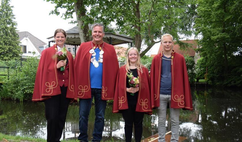 De Zieuwentse koningsparen van 2018. Foto: PR