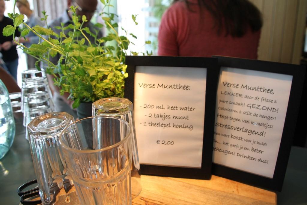 Verse muntthee. Foto: Annekée Cuppers  © Achterhoek Nieuws b.v.