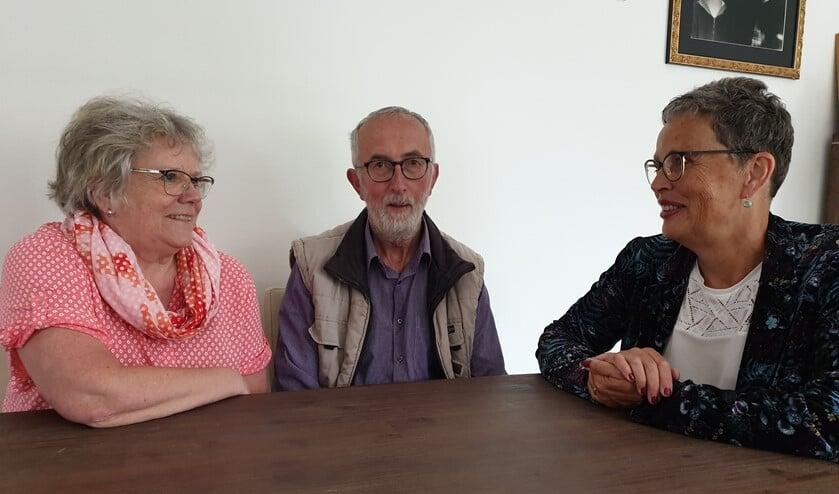 Tiny Palm, Martin Palm en Bernadette van Lent. Foto: Joke Burink